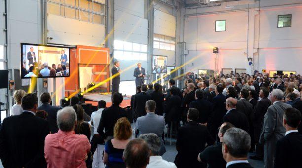 Soirée inaugurale du siège social DHOLLANDIA